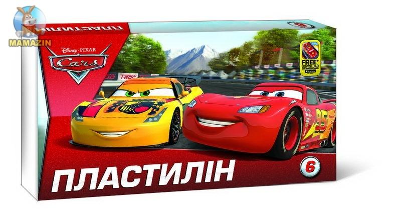 """Пластилін """"Серія Cars"""" 6 кольорів"""