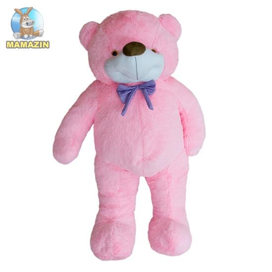 Мягкая игрушка медведь Бо розовый