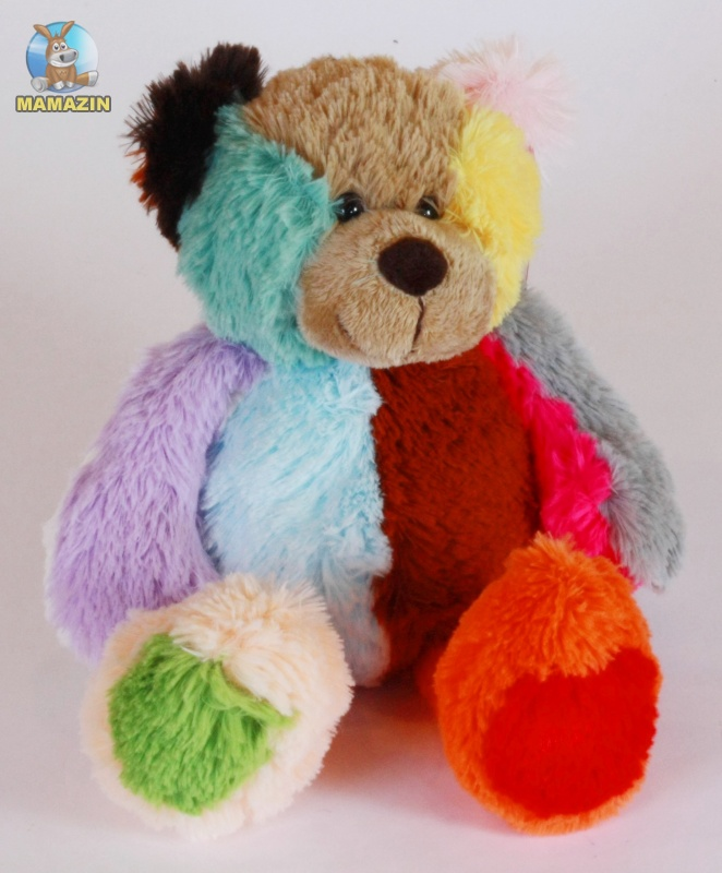 Мягкая игрушка мишка цветной