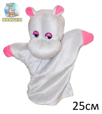 Кукла-рукавичка Бегемот