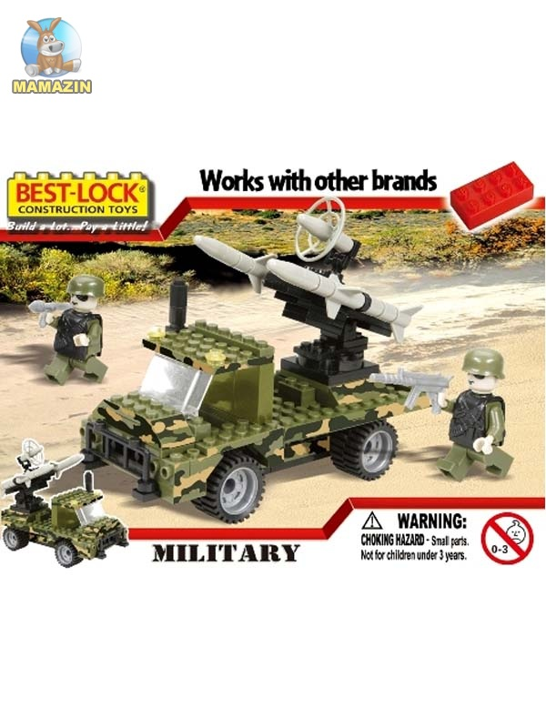 Конструктор Бест-лок военная ракета