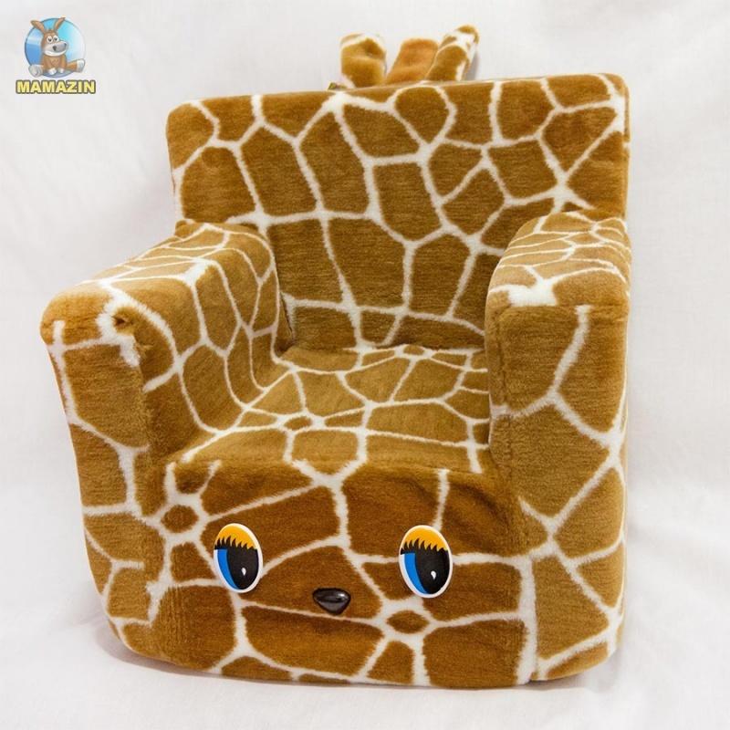 Стульчик-кресло /жаккард/ жираф
