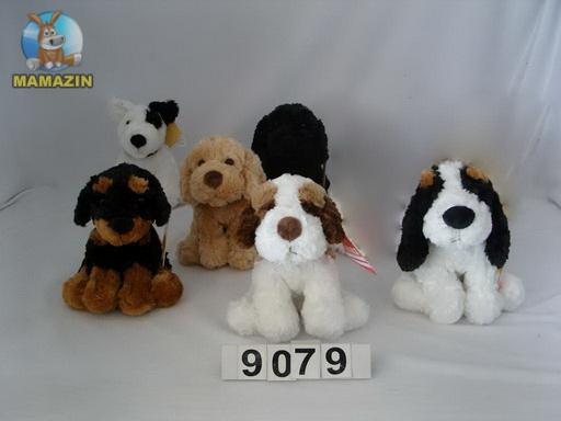 Мягкая игрушка Собака черная