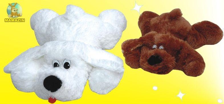 Мягкая игрушка Собака Булька /травка/ большая