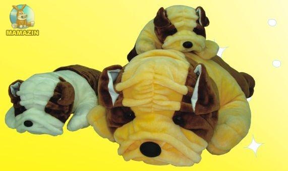 Мягкая игрушка Собака Боксер средняя