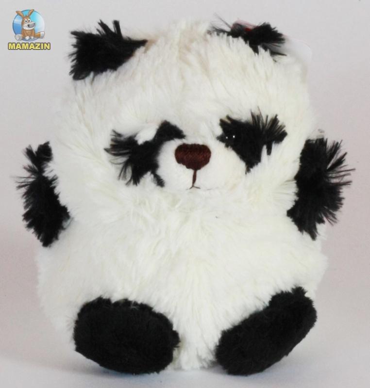 Мягкая игрушка Панда круглая, 15см