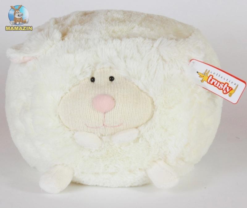 Мягкая игрушка Овца кубик, 23см