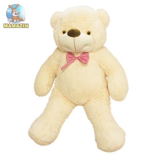 Мягкая игрушка Медведь Бо 137 см молочный