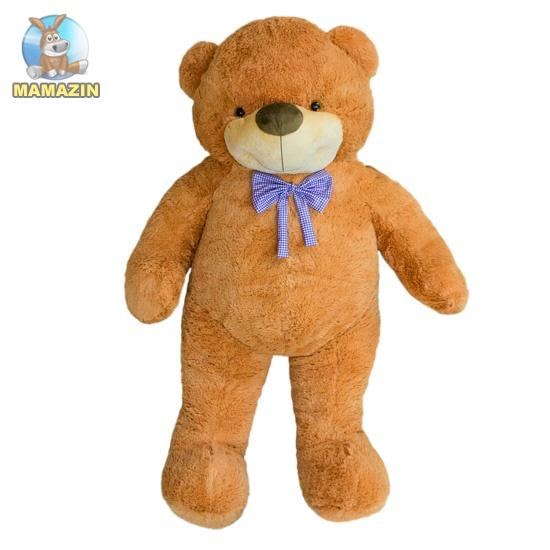 Мягкая игрушка Медведь Бо 137 см коричневый