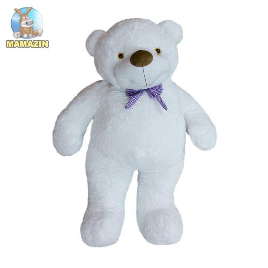 Мягкая игрушка Медведь Бо 137 см белый