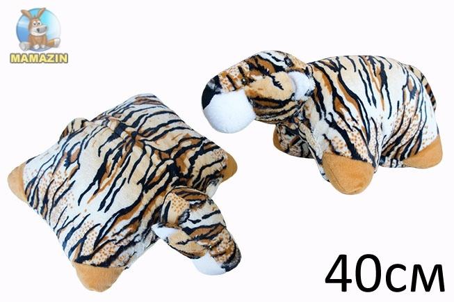 Подушка трансформер тигр