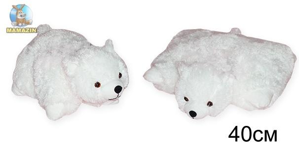 Подушка трансформер медвежонок Соня (травка)