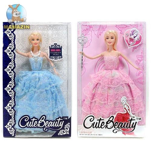Кукла в бальном платье, аксессуары