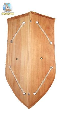 Щит деревянный 45*22см