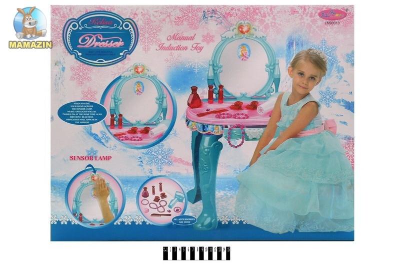 Зеркало с детским столиком