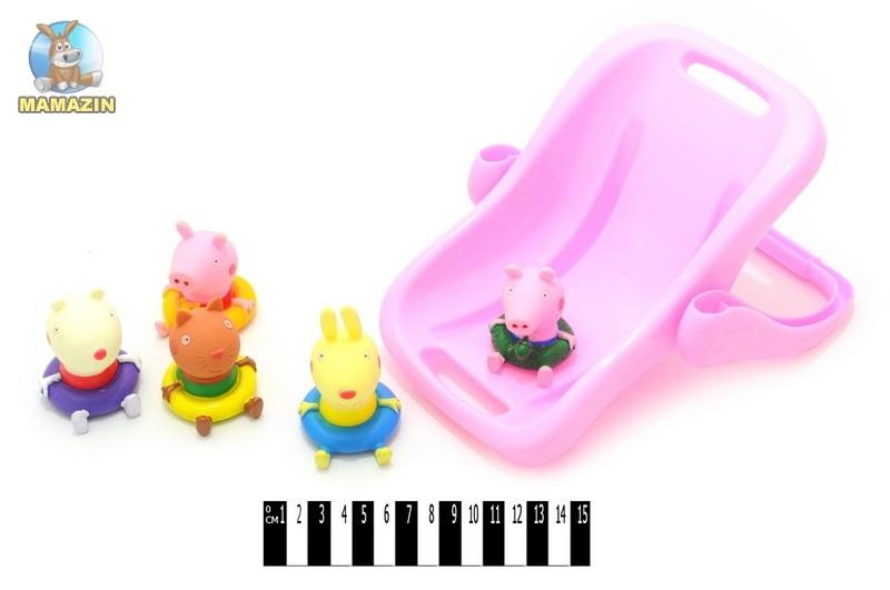 """Игровой набор """"Свинка Пеппа"""" в ванночке"""