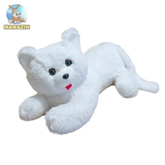 Мягкая игрушка Кот Перс белый, 50см
