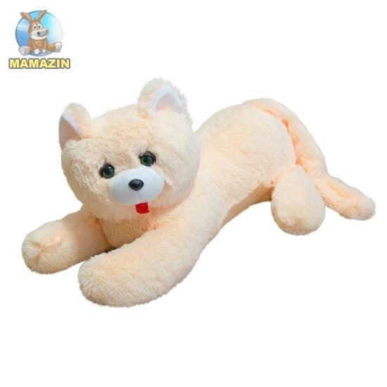 Мягкая игрушка Кот Перс, молочный