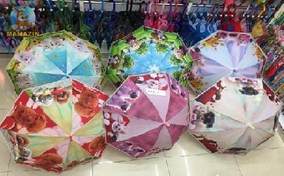 Зонт щеночки, со свистком