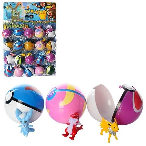 """Фигурка """"Pokemon Go"""", ловушка-шарик 7см - блок"""