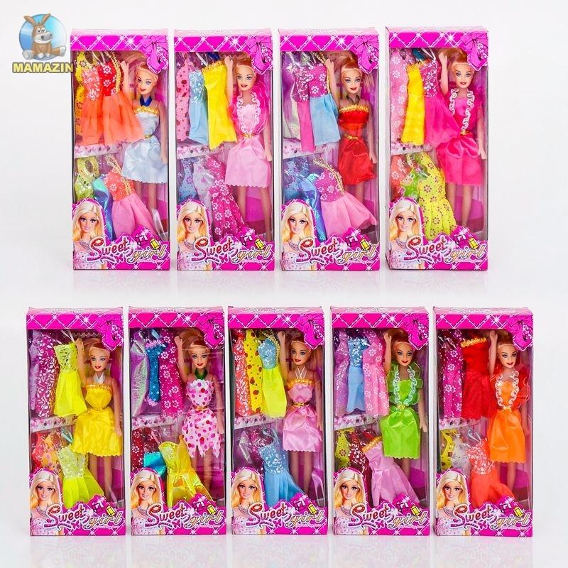 Кукла с набор одежды
