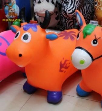 Прыгун корова