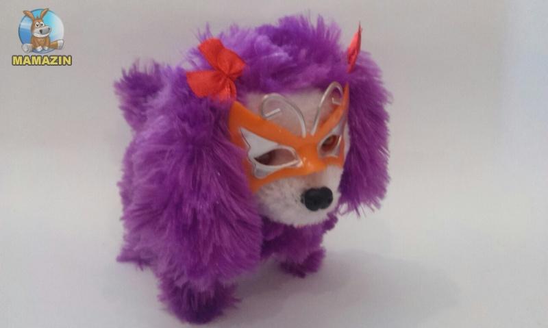 Собачка механическая, в маске