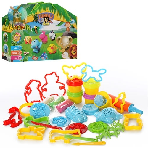 Пластилин - игровой набор - Джунгли