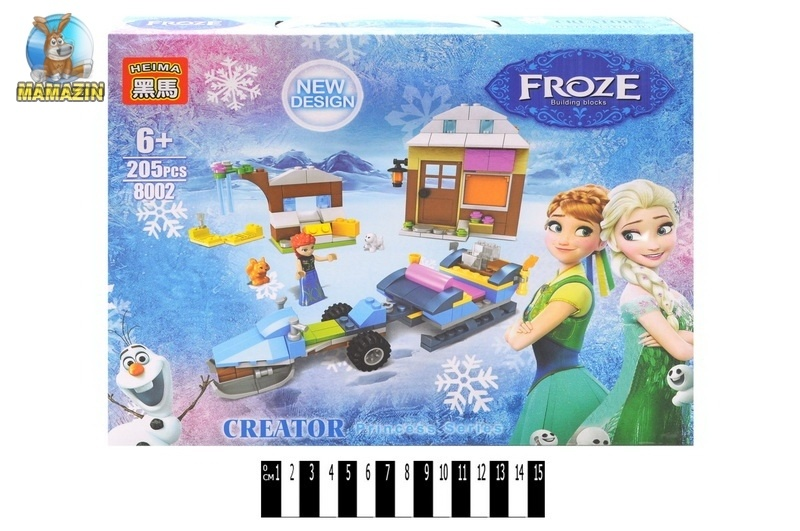"Конструктор ""Frozen"" сани"