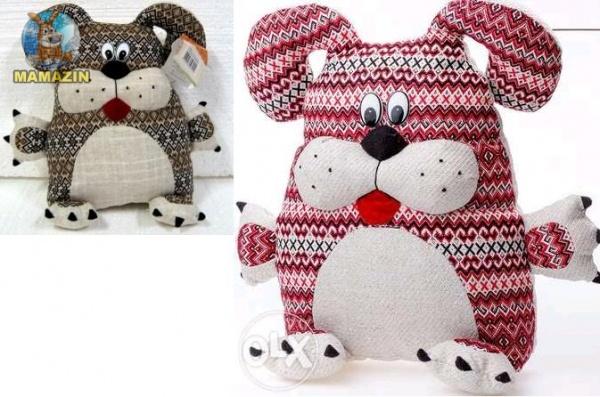 Мягкая игрушка Собачка-подушка