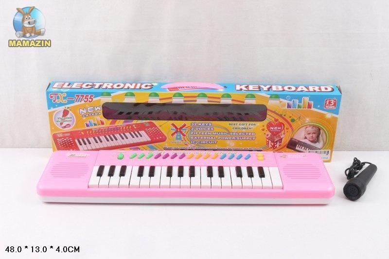 Орган, 32 клавиши, с микрофоном