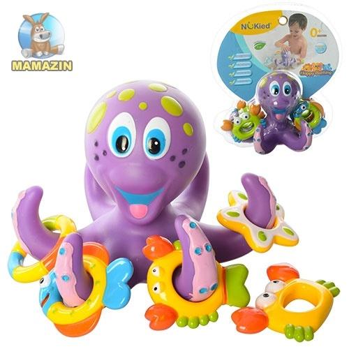 """Игрушка для купания """"Осьминог с морскими животными"""""""
