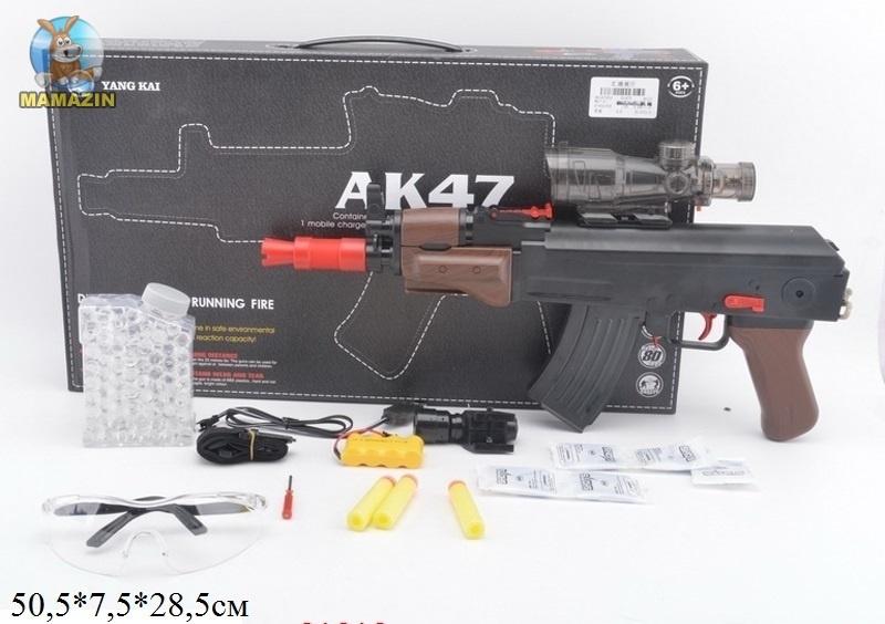 """Автомат """"АК-47"""" с гелевыми пульками"""
