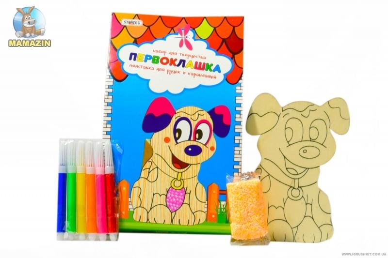 """Подставка для ручек и карандашей """"Пёсик"""""""