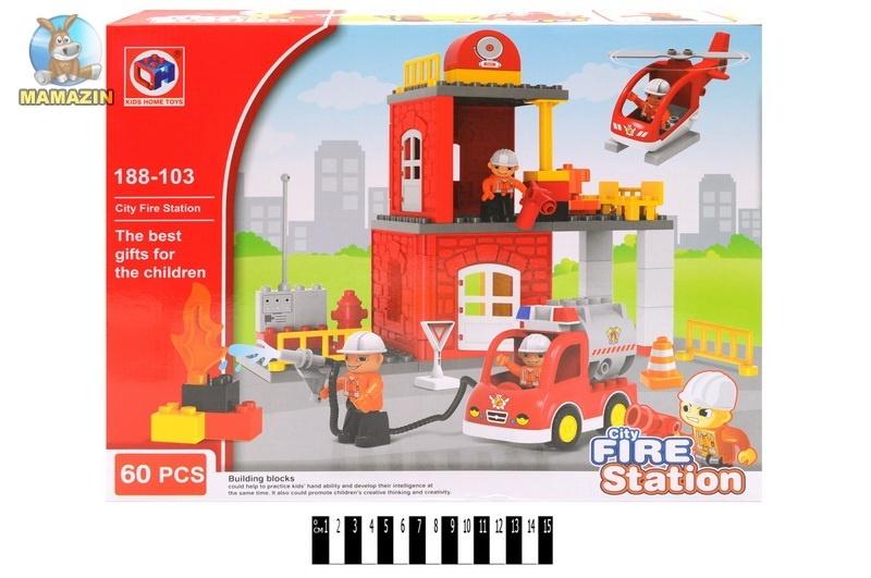 "Конструктор ""Fire station"""