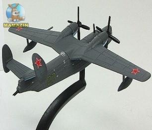 """Модель Самолет """"БЕ-6"""""""