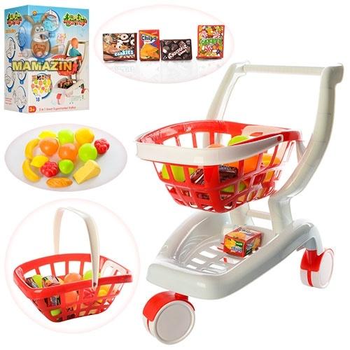 Игровой набор - Тележка супермаркет