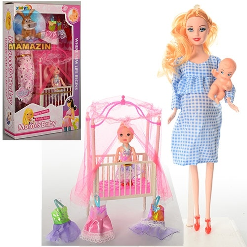Кукла беременная 27 см