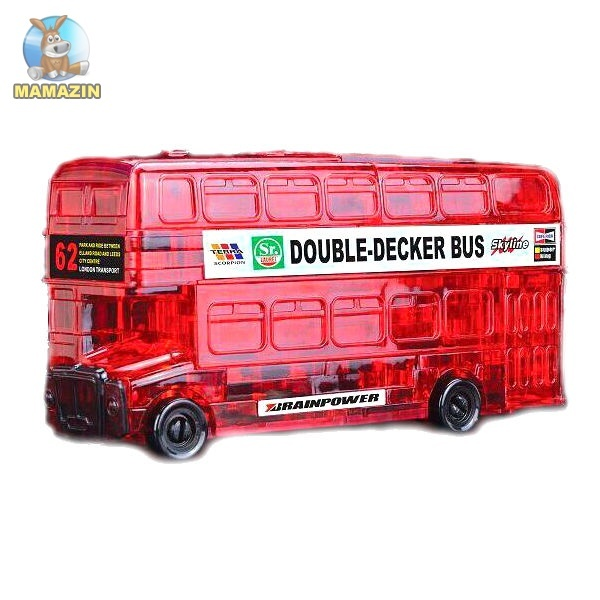 """Пазлы 3D """"Двухэтажный автобус"""""""