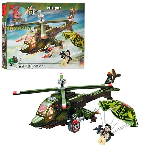 Конструктор  Вертолет ТМ Brick