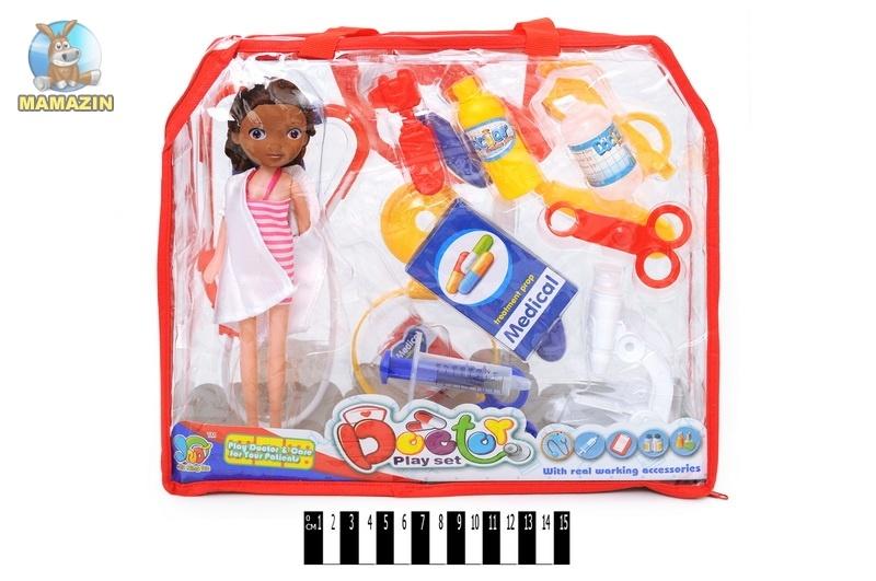 Набор доктора игрушечный