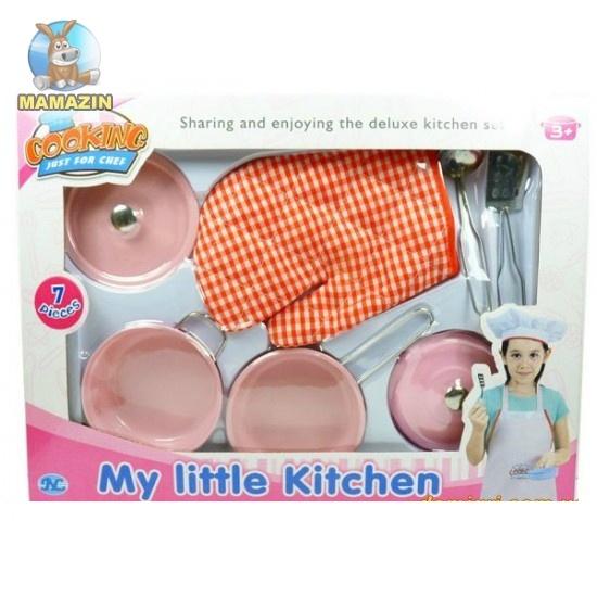 Детский кухонный набор, 7 предметов