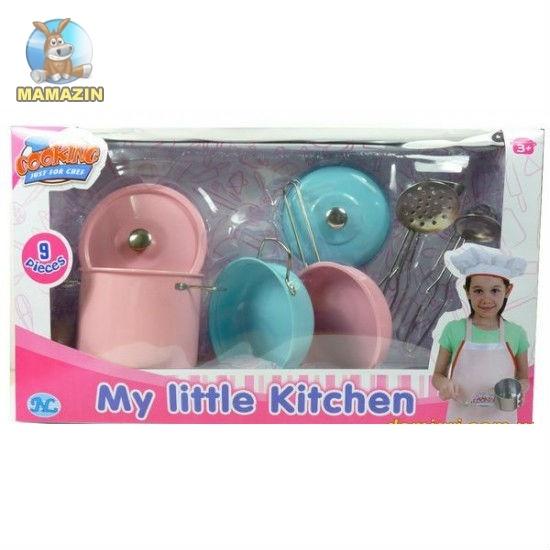 Детский кухонный набор, 9 предметов