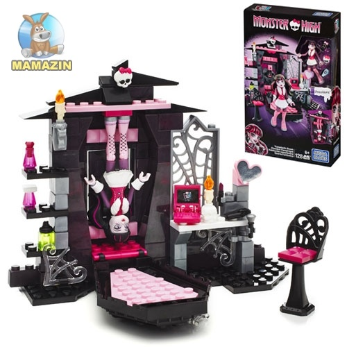 Конструктор Monster High Комната Дракулауры