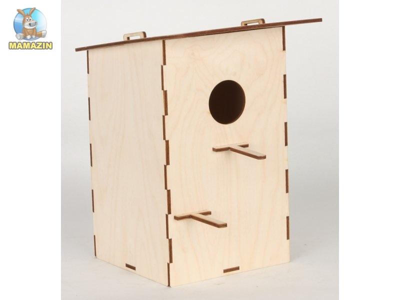 Сборная деревянная модель скворечник стандарт