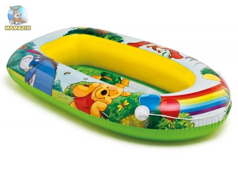 """Надувной плот лодочка ПУХ """"Winnie the Pooh Boat"""" Интекс"""