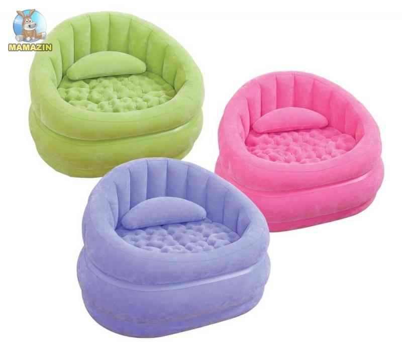 Надувное кресло Intex Lounge'N Chair Интекс