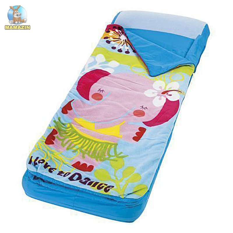 Детский надувной матрас-спальник Интекс