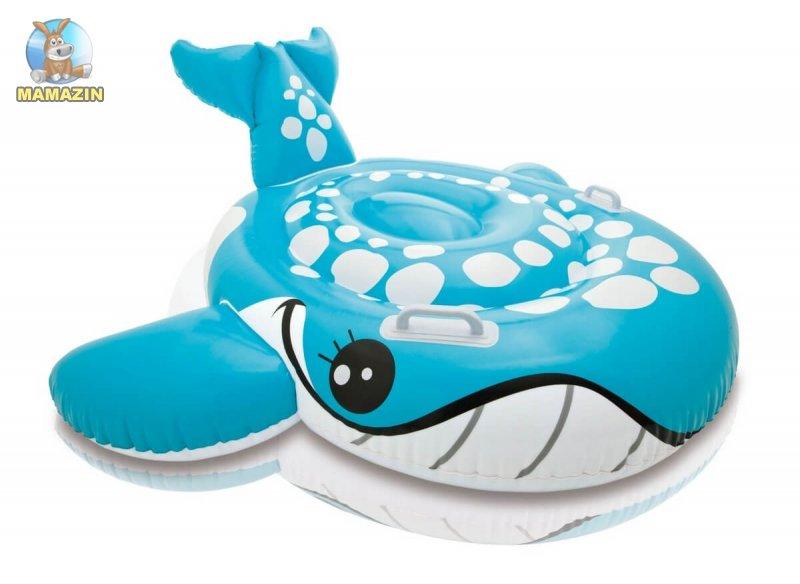 """Надувная игрушка """"Большой кит"""" Интекс"""