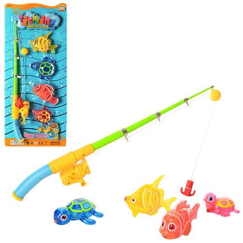 Рыбалка детская с магнитной удочкой